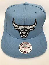 Mitchell & Ness Chicago Bulls Logo Series Snapback Cap VE31Z BULL BLUE