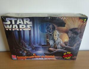 Vintage STAR WARS Encounter With Yoda On Dagobah Model Kit ERTL AMT New Sealed
