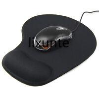 Anti-Slip Mouse Mat Mice Pad Durable Soft Support Wrist Comfortable Thin RKJ
