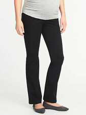 """NWT Old Navy Maternity Cotton Stretch Full Panel Boot Cut Pants 31"""" Inseam SZ 16"""