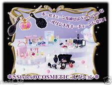 Re-Ment Dollhouse miniature Barbie Blythe Petit Cosmetic RARE SET  5 PCS