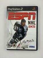 ESPN NHL 2K5 - Playstation 2 PS2 Game - Complete & Tested
