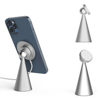 For iPhone 12 Mag Safe Magnetic Wireless Phone Charging Adaper Desk Holder Stand