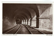 Weinxetteland Tunnel - Semmering Photo Postcard c1926