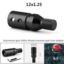 Automotive Gear Shifter Aluminum Thread Converter Gear Lever Adapter12x1.25 Type