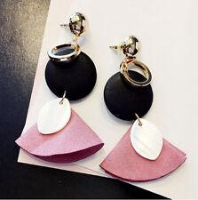 1 Pair Elegant Women Tassel Rhinestone Ear Stud Fashion Earrings Chain