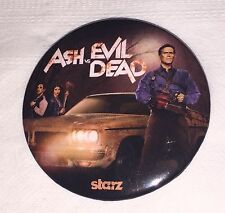 Ash vs Evil Dead Nycc 2015 Exclusive Pin Groovy Baby! Starz Tv Series Rare! #2