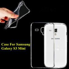 Soft TPU Gel Silicone Clear Crystal Case Cover For Samsung Galaxy S3 Mini i8190