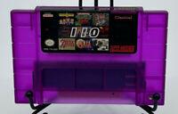110 in 1 Super Nintendo Collection for the SNES console   Rare Purple shell