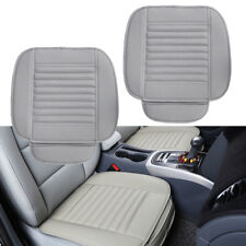 2PC Breathable Car Interior Seat Cover Cushion Pad Mat for Auto Supplies Office