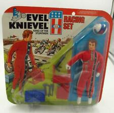1975 EVEL KNIVEL RACING SET FIGURE BY IDEAL