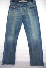 Diesel Men's Vintage 'janwer' Blue Straight Leg Jeans-Délavé 796 W 32 L 34