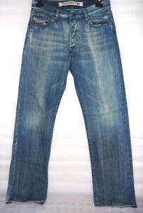 DIESEL Men's Vintage 'Kratt' Blue Straight Leg Jeans - WASH 796 W 32 L 34