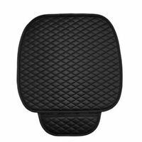 Universal Car Front Seat Cover Breathable Confortale PU Leather Pad Mat Cushion