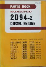 Komatsu Diesel Motor 2 D 94 - 2 Ersatzteilkatalog