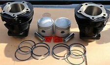 """74"""" Harley Knucklehead Cylinder & Piston Set 3 Piece Oil Ring Set Quality (416"""