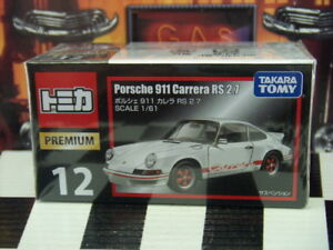 TOMICA PREMIUM #12 PORSCHE 911 CARRERA RS 2.7 1/61 SCALE NEW IN BOX