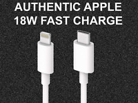 ORIGINAL APPLE 18w USB-C Lightning Cable Fast Charge For iPhone 11 / Pro / Max
