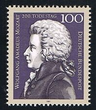 GERMANIA 1 FRANCOBOLLO MOZARD 1991 nuovo**