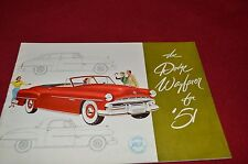 Dodge Wayfarer For 1951 Cars Car Dealer's Brochure GDSD