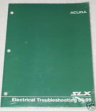 1998 1999 ACURA SLX Electrical Troubleshooting Shop Manual ETM Wiring Diagrams