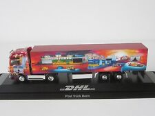 MAN TGA XXL Post Truck Bonn DHL 1/87 H0 Case Trailer Truck Sz PC Herpa 121392