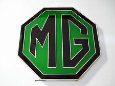 NEW Enamel Black and Green MG BADGE MGB ZR ZS ZT 59mm
