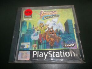 SCOOBY DOO AND THE CYBER CHASE - SONY PLAYSTATION 1 PS1