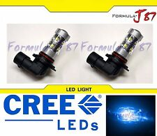 CREE LED 50W 9005 HB3 BLUE 10000K TWO BULB HEAD LIGHT DRL LAMP REPLACEMENT SHOW