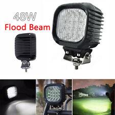 5inch LED Work Light Pod Flood Beam Offroad Fog Driving Car Backup 6000K 4800 LM