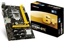 Biostar H110M-BTC Micro-ATX LGA 1151 Intel H110 6 GPU Mining Motherboard
