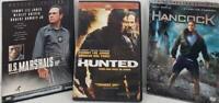 Action DVD Bundle US Marshalls Hancock Hunted