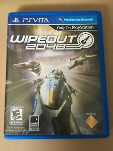Jeu PS Vita - Wipeout 2048 - Comme Neuf