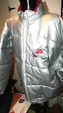 Mens Starter NHL Hockey Coat Colorado Avalanche Winter Coat Silver Puffer Sz XL