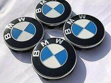 4x Original BMW Rad Naben Deckel kappen Embleme 5er E34 E39 E60 E61 F10 F11 Cap