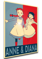 Poster Propaganda - Anne of Green Gables - Anne Shirley & Diana Berry - LL0568