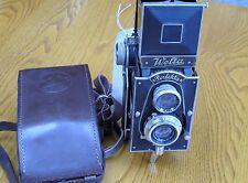 Vintage Welta Perfekta TLR c. 1934, with Xenar lens, leather case
