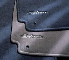 Toyota Solara 2006 - 2008 Convertible Charcoal Carpet Floor Mats - OEM NEW!