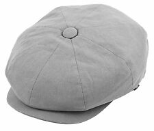 Newsboy Cap Patchwork Cabbie Driving Ivy Light Weight Applejack Apple Jack Hat
