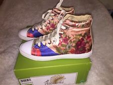 Alouette Italy High Top Sneakers Women's Size 37 US 7