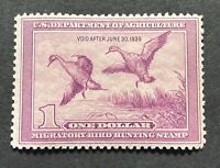 WTDstamps - #RW5 1938 - US Federal Duck Stamp - Mint H