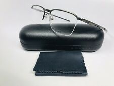 f444733f0bc1 New Oakley OX3187-0251 Pewter CONDUCTOR 0.5 Eyeglasses 51mm with Oakley Case