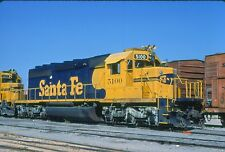 ATSF 5100 SD-40, Dallas, Tx, 07/83; Kodachrome Original