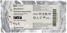 "Xeroform Occlusive Petrolatum Gauze Strip, 5"" x 9"" (1 Each)"