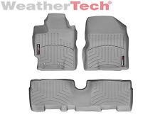WeatherTech Floor Mats FloorLiner for Scion xD/Toyota Yaris 1st & 2nd Row - Grey