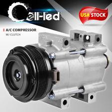 New AC A/C Compressor For Mercury Sable Ford Taurus 3.0L 01-07 97032541 4-Door