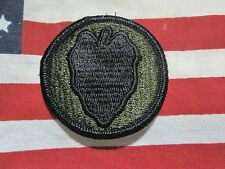 U.S ARMY 24TH INFANTRY DIVISION SUBDUED PATCH M/E PATCH