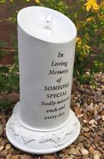 Alguien especial memorial tributo de energía solar Parpadeo Vela del LED DF17131P