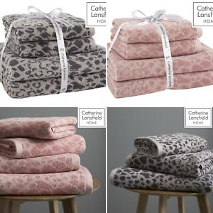 Catherine Lansfield Sengeti Animal Skin 100% Cotton 4 Piece Towel Bundle