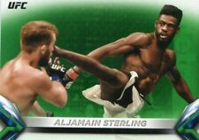 👊 2018 TOPPS UFC KNOCKOUT GREEN  PARALLEL SERIAL034/199 ALJAMAIN STERLING #81👊